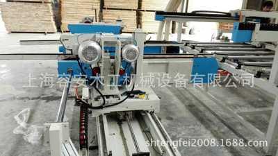 木工机械自动木门清方机|防火木门自动四边锯切生产线上海厂家