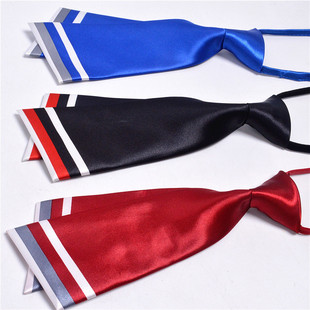 Wholesale 2021 new double knife type red sailor dance tie formal shirt formal banquet business lazy tie