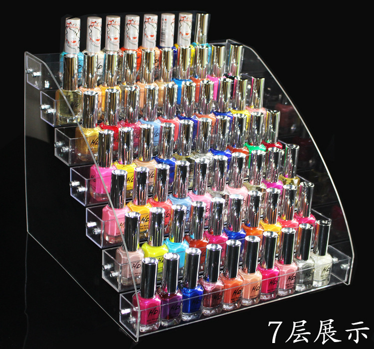 Free giftdurable acrylic nail polish lipstick makeup display item type nail polish rack material acrylic plate plastic metal parts color transparent optional types two layers three layers four layers solutioingenieria Image collections