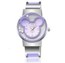 速卖通亚马逊爆款xinhua新款米奇卡通手环表学生表女生可爱手表