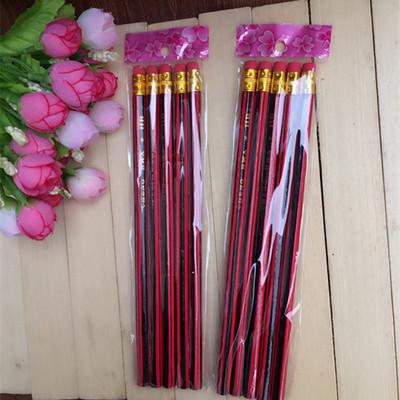 5支装铅笔 ,木质铅笔   一元二元店货源