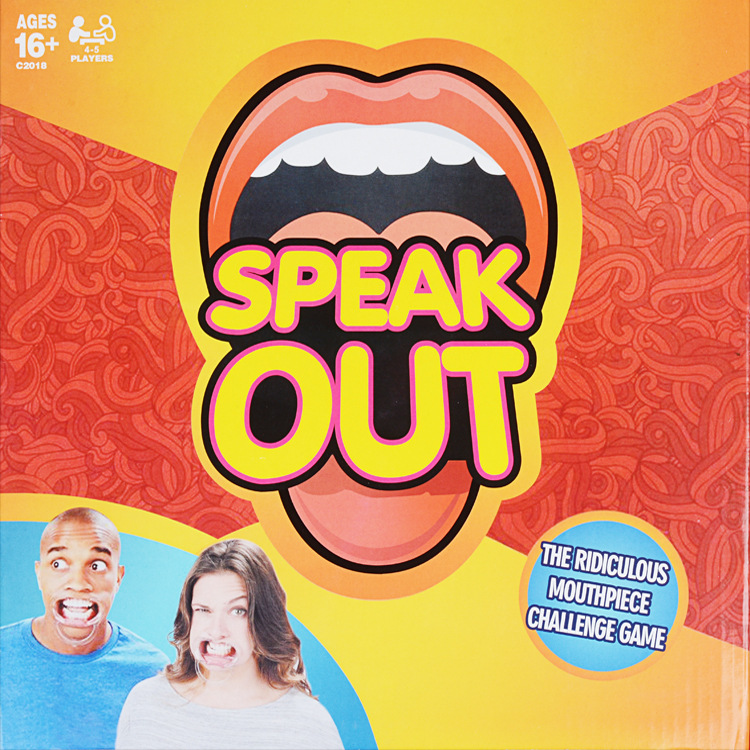 Speak Out Speakout Board Game Party Mouthguard Mouthpiece Birthday XMAS Gifts DS | eBay