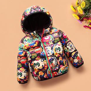 童装女童冬装儿童男女童韩版中小童加厚保暖棉服宝宝外套厂家批发