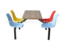 批发供应 食堂餐桌椅 可拆装餐桌椅 学校食堂椅子 价格实惠