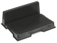 防静电PCB周转架 电路板支架 条形L型SMT托盘 插盘条纹卡板料架