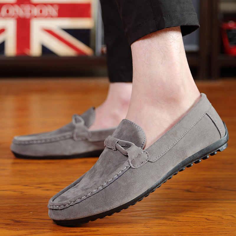 Summer Peas Shoes Lazy Men's Shoes A Pedal Casual Shoes Korean Trend 2018 New Spring Wild Tide Shoes