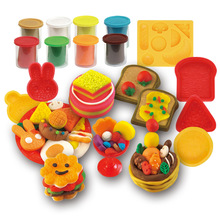Like leather clay plastic mold tool set children girl super clay toy 3d color mud handmade mud