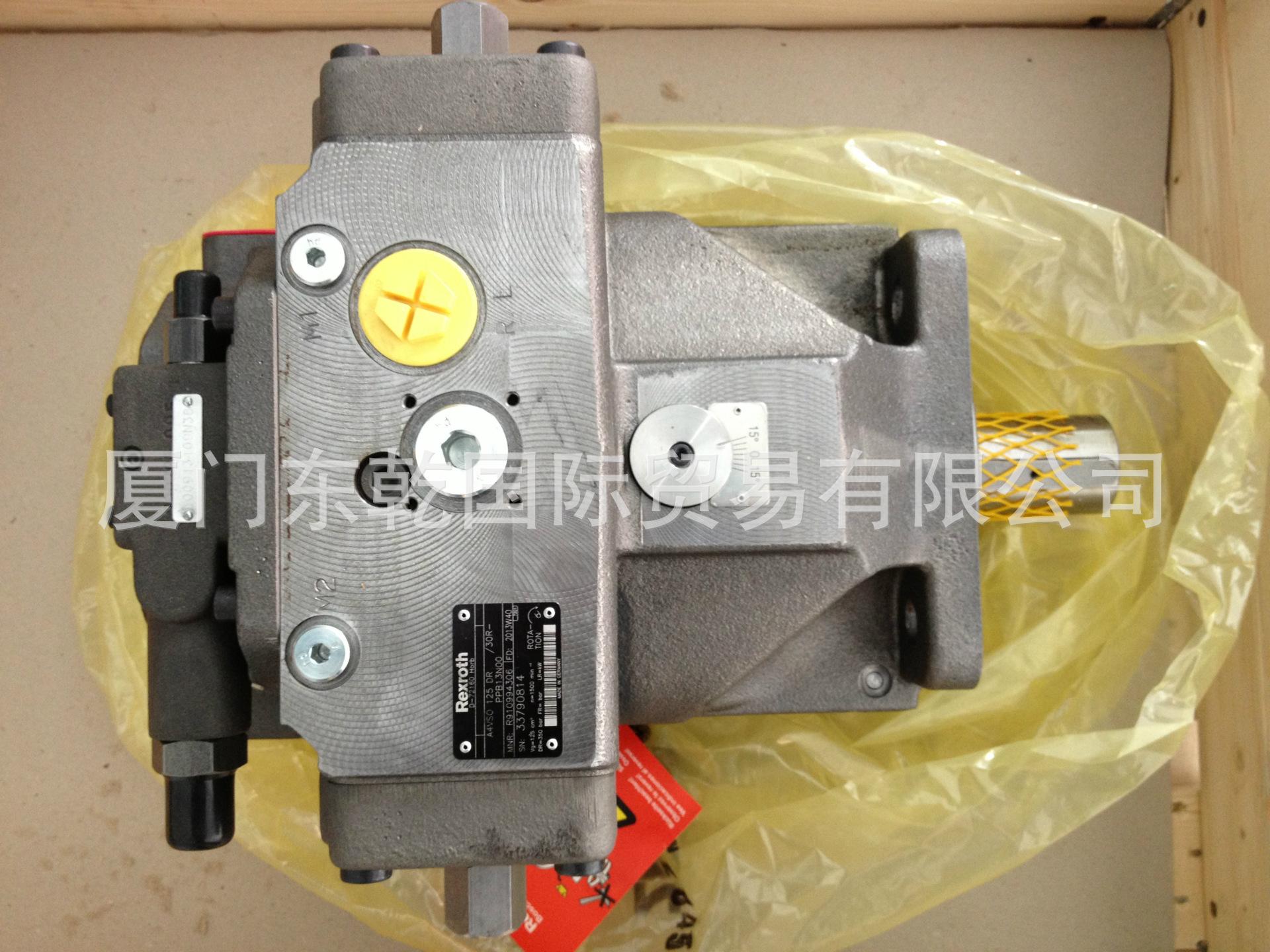 现货销售力士乐变量泵A4VSO125DRG/30R-PPB13N00原装全新REXROTH