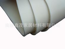 供應泡棉材料革汽車腳墊pvc白色厚度2.0mm泡棉皮料人造革工廠