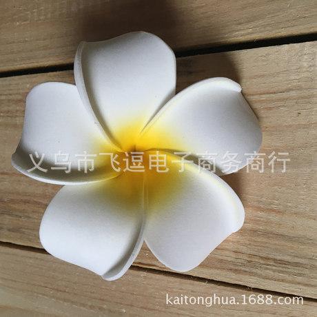 4/7 / 9cm Frangipani Mũ mô phỏng Eva Cô dâu hoa đầu kỳ nghỉ bên bờ biển Hoa PE