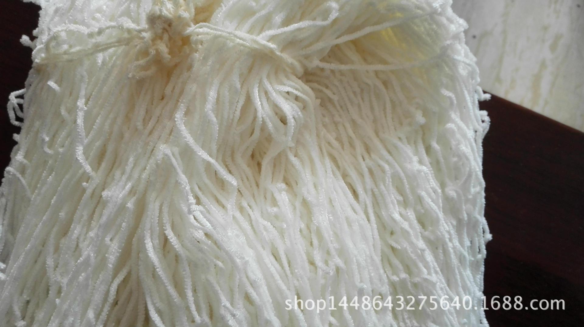 腈纶雪尼尔 手感柔和织物饱满 用于服装面料围巾帽子手套批发
