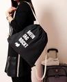 束口袋抽绳双肩包帆布学生书包运动拉绳布袋手提购物袋小背包批发