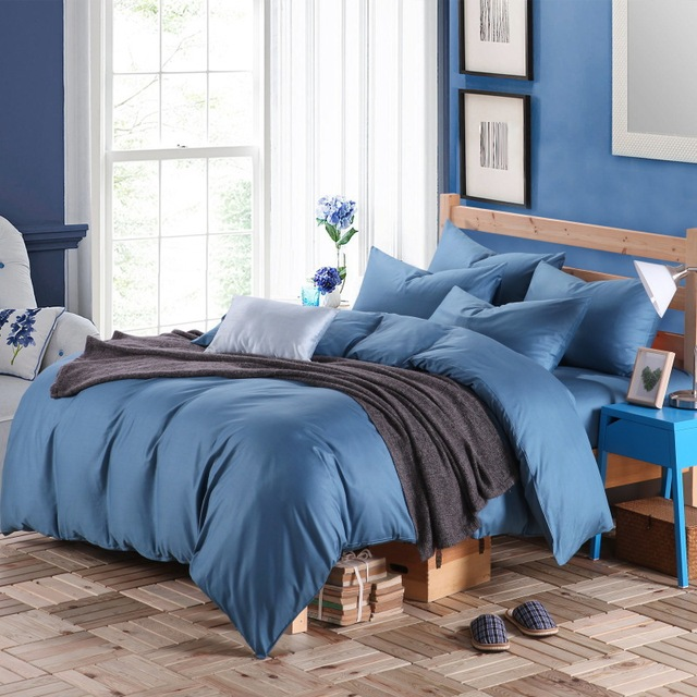 Bedroom - Four Piece Cotton Suite Bedding Sheets