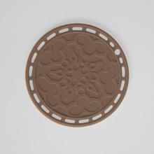 批發硅膠墊 13CM硅膠隔熱墊 小號雕通硅膠墊硅膠餐墊