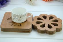 木質碗墊墊子餐墊隔熱墊盤墊杯子墊餐桌墊鍋墊廚房鍋墊17cm大號