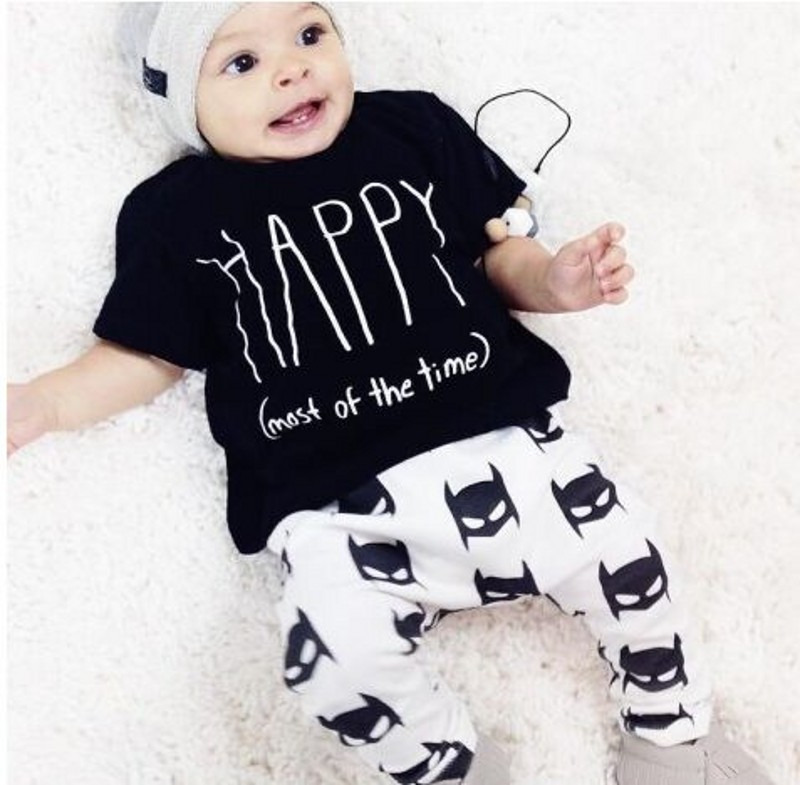 388405b52 2019 New INS Summer Style Infant Clothes Baby Clothing Sets Boy ...