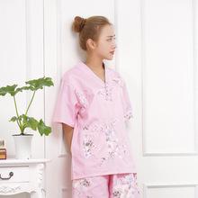 安然纳米汗蒸服 女款 纯棉 全棉 桑拿服浴服 睡衣按摩服韩版