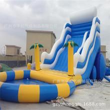 充气产品厂家直销户外运动游艺设备淘气堡大型儿童水滑梯城堡组合