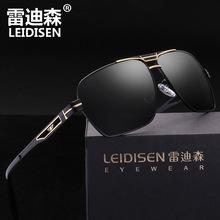 厂家直销镂空雷迪森方形偏光太阳镜男驾驶镜司机偏光镜墨镜2648
