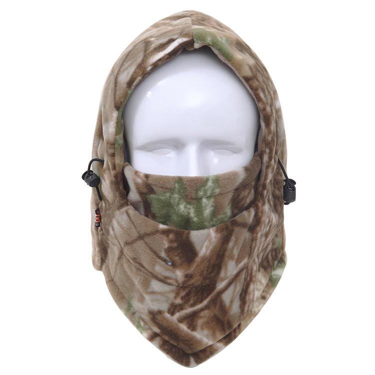 新款加厚米尔粒摇粒绒帽子冬季户外防寒帽防风保暖登山帽