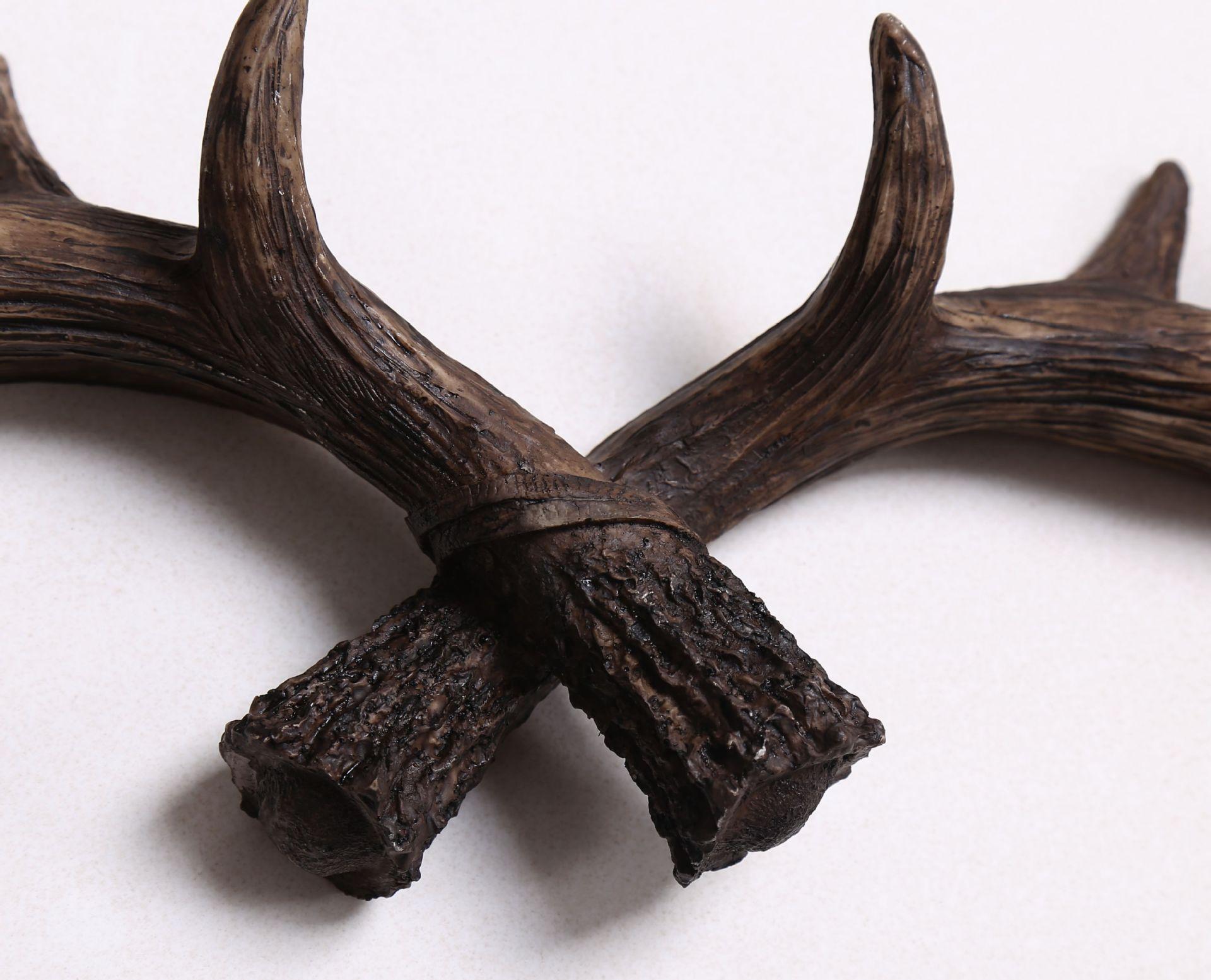vintage deer antler hook decorative wall hat coat bag hanging hooks rack hanger ebay. Black Bedroom Furniture Sets. Home Design Ideas