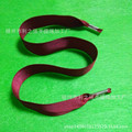螺纹手提绳 扁涤纶手提绳 彩色礼品袋绳  2公分宽