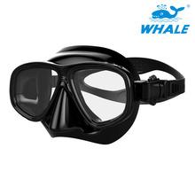 鲸鱼厂家潜水镜成人潜水面罩硅胶面罩浮潜装备潜水用品批发定制