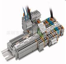 WAGO/万可 適用於表面安裝的模組化接線端子台和端子排系列