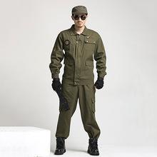 爆款林地迷彩服训练学生军训服特种兵户外拓展作训服军迷套装批发