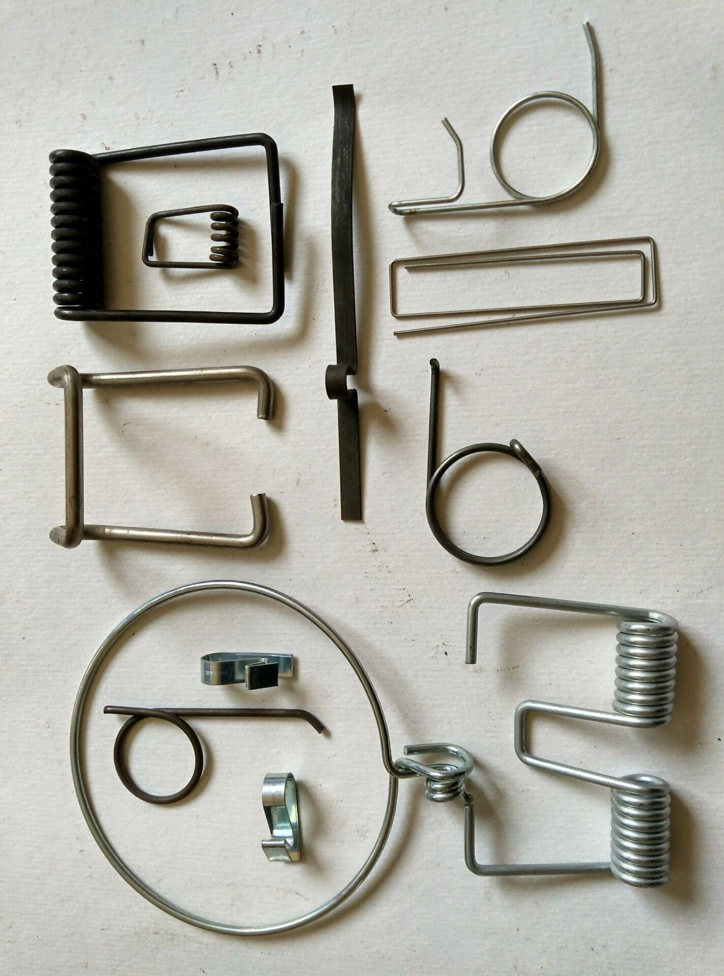 线径0.15-10mm异形弹簧定制高难度弹簧加工不锈钢弹簧非标订做