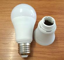新款A60塑包鋁磨砂面免中蓋球泡燈外殼LED 9W12W