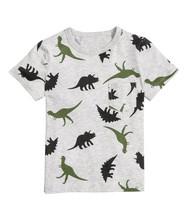 2018夏季男童短袖童装T恤 品牌纯棉童T恤 欧美夏款风格儿童T恤