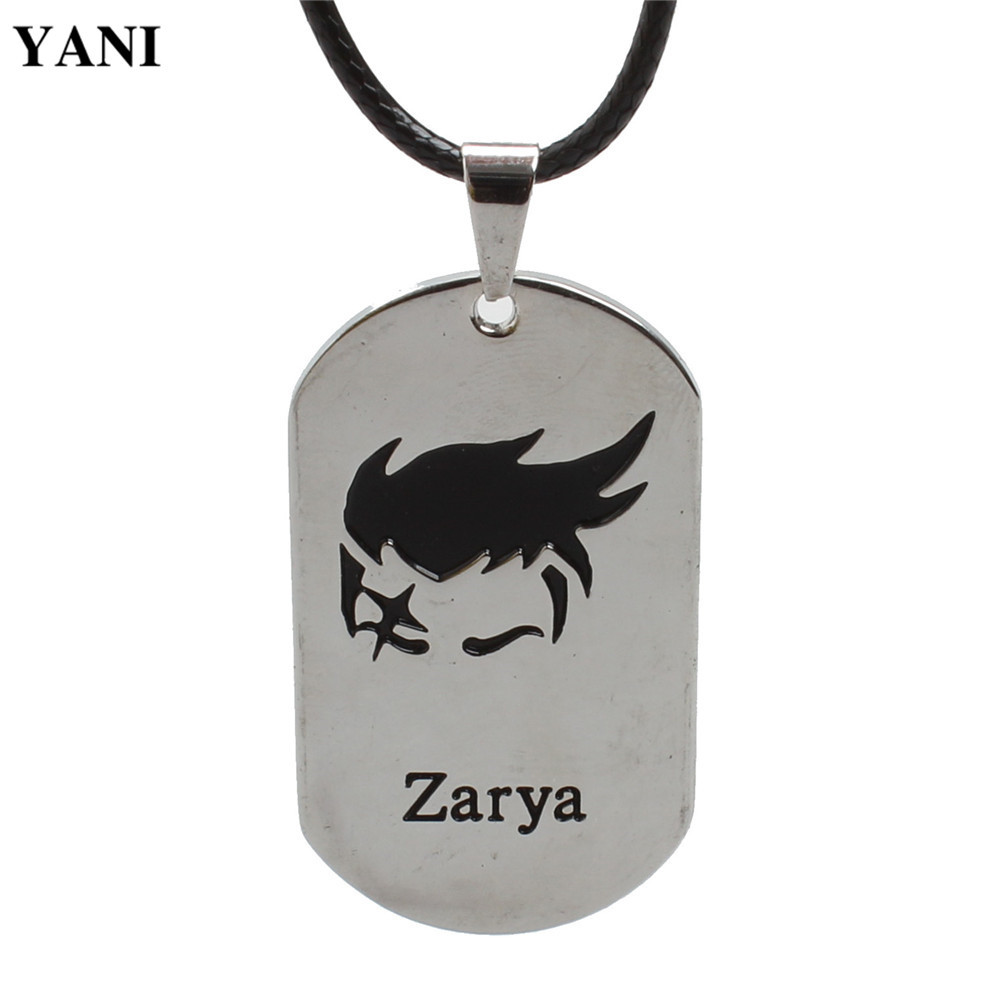 DM306 New Online Games Around The Vanguard Of 21 Heroes Dog Brand Military Alloy Necklace Pendant (5) - intl