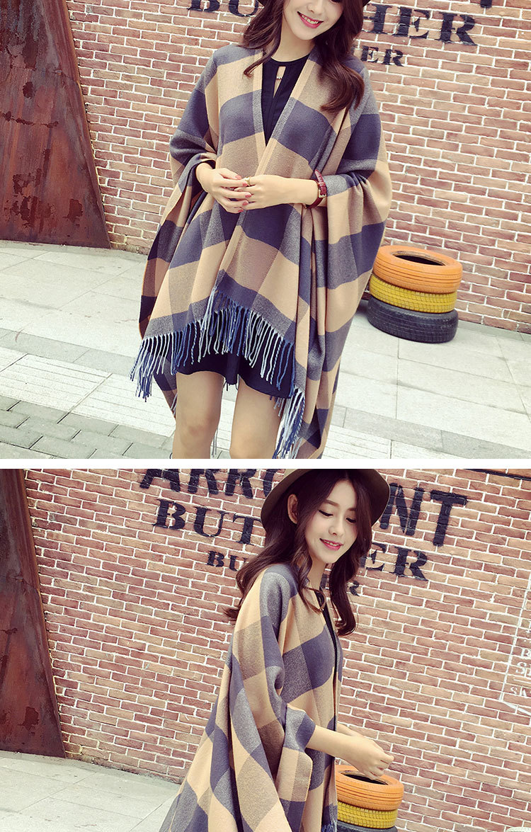 Imitation cashmere shawl (Model features) NHYC0516