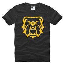 創意純棉男式短袖T恤 BULLDOG Bulldogge 斗牛犬頭像 可愛卡通