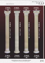 高档精致建材PU罗马柱/中式家具圆形罗马柱