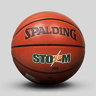 正品NBA斯伯丁真皮篮球74-413-604y室内室外防滑耐磨7号科比