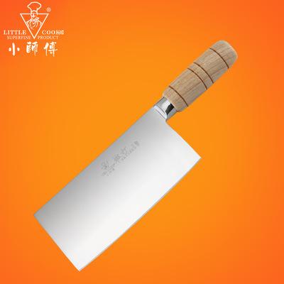 阳江锻打厨师刀具不锈钢厨房刀具切菜刀切片刀切肉刀 M-D4