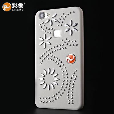 现货代理vivo x6手机保护套 皮套时尚铜钉工艺新款上市 厂家直销