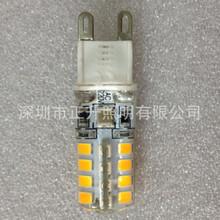 蜡烛暖光G9 2835SMD 32灯 灌胶灯 防水玉米灯 偏暖2000K色温