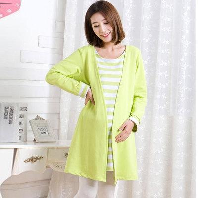 时尚韩版孕妇装春装 加大码长袖上衣孕妇连衣裙秋款