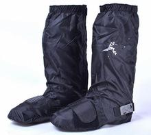 摩托车防水鞋套/长途骑行加长款 带挂挡胶  无鞋跟雨鞋套
