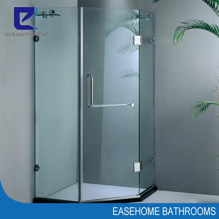 长方形不锈钢淋浴房 玻璃隔断
