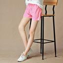 Quần short kaki nữ ống rộng, màu sắc trẻ trung, phong cách Hàn Quốc