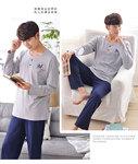 Đồ ngủ nam thời trang, kiểu dáng thoải mái, phong cách đơn giản