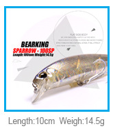 Retail 2015 new A+ <font><b>fishing</b></font> lures, 120mm/40g super sinking minnow ,assorted different colors, ,Including Nice Retail PVC box