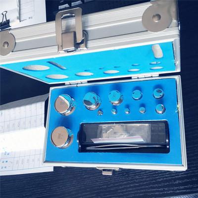E2级无磁不锈钢砝码10mg-100mg 实验室校准天平砝码 组合砝码