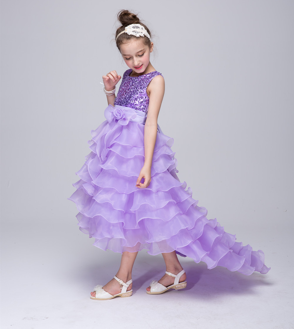 8f98dd232 Summer Girls Dress Children S Clothing Party Princess Baby Kids ...