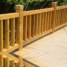 户外花园围栏 木质围栏别墅  防腐木户外围栏篱笆