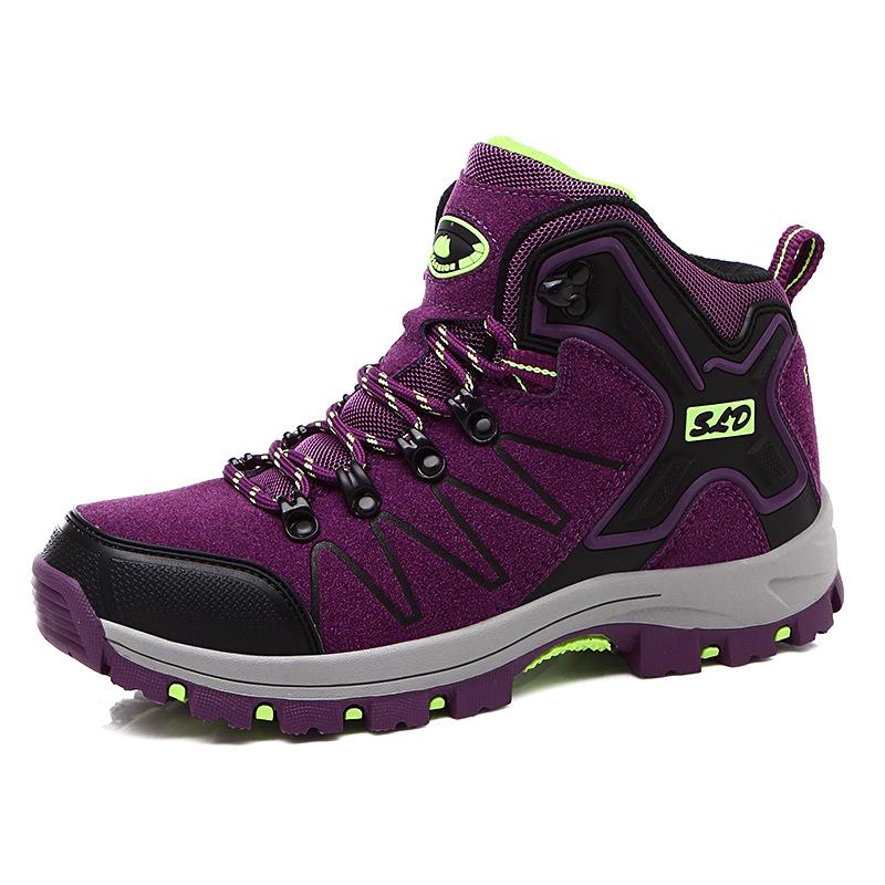 跨境供应户外男鞋登山鞋高帮徒步鞋靴子女越野鞋运动旅游鞋工作鞋